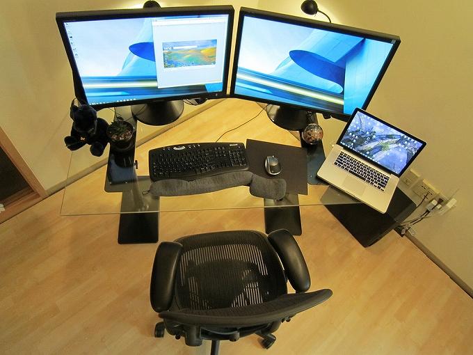アーロンチェアがある部屋・オフィスの雰囲気画像まとめ1