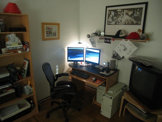 アーロンチェアがある部屋・オフィスの雰囲気画像まとめ1006